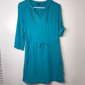 GAP turquoise dress with embellishments size XS